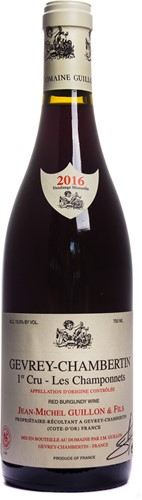 Gevrey-Chambertin 1er Cru 'Les Champonnets' 2016