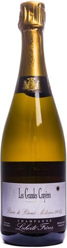 Champagne Les Grandes Crayeres Millésime 2015