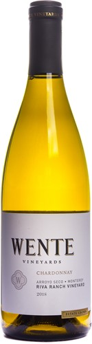 1/2 Wente Chardonnay Reserve 'Riva Ranch' 2018 - Halve fles